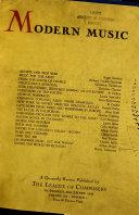Modern Music Book PDF