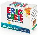 Eric Carle Six Classic Board Books Box Set Book