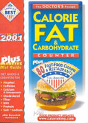 The Doctor s Pocket Calorie  Fat and Carbohydrate Counter 2000