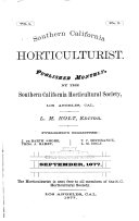 Southern California Horticulturist