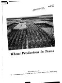 Wheat Production in Texas