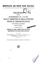 Monopolistic And Unfair Trade Practices PDF