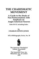 The Charismatic Movement Book