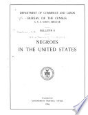 Negroes in the United States