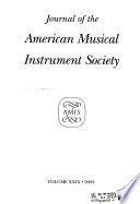 Journal of the American Musical Instrument Society