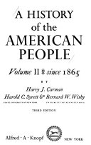 A History of the American People  Since 1865