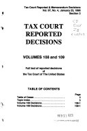 Tax Court Reported Decisions