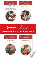 Harlequin Presents November 2017 Box Set 1 Of 2