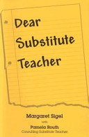 Dear Substitute Teacher