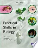 Practical Skills in Biology Book