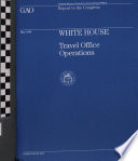 White House Travel Office Operations