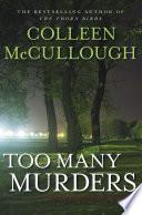 Too Many Murders Pdf/ePub eBook