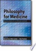 Philosophy for Medicine