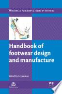 Handbook of Footwear Design and Manufacture Book