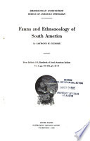 Fauna and Ethnozoology of South America Book