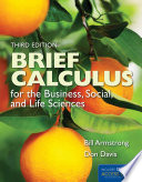 Brief Calculus The Study Of Rates Of Change [Pdf/ePub] eBook