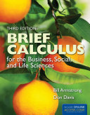 Brief Calculus for the Business, Social, and Life Sciences