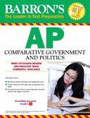 Barron s AP Comparative Government   Politics Book