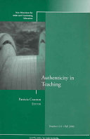 Authenticity in Teaching
