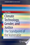 Climate Technology Gender And Justice