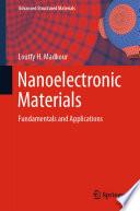 Nanoelectronic Materials Book