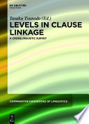 Levels In Clause Linkage Book PDF