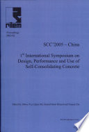PRO 42  1st International RILEM Symposium on Design  Performance and Use of Self Consolidating Concrete   SCC 2005  China Book