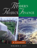 Modern Project Finance Book