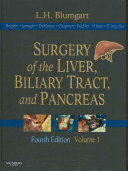 Surgery of the Liver  Biliary Tract  and Pancreas