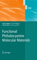 Functional Phthalocyanine Molecular Materials
