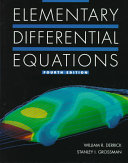 Elementary Differential Equations Book