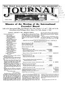 The Pulp  Sulphite and Paper Mill Workers Journal