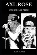 Axl Rose Coloring Book
