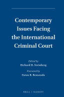 Contemporary Issues Facing the International Criminal Court - Seite 113
