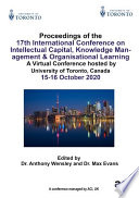 17th International Conference on Intellectual Capital  Knowledge Management   Organisational Learning