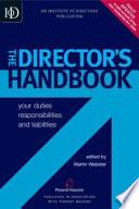 The Director s Handbook Book