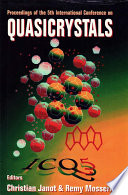 Quasicrystals   Proceedings Of The 5th International Conference Book
