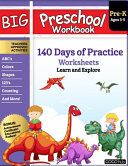 Big Preschool Workbook Book PDF