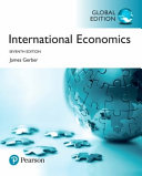 Cover of International Economics, Global Edition
