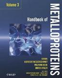 Handbook Of Metalloproteins Handbook Of Metalloproteins Book PDF