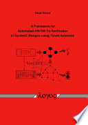 A Framework For Automated Hw Sw Co Verification Of Systemc Designs Using Timed Automata Book PDF