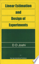 Linear Estimation and Design of Experiments.epub