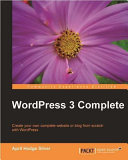 Wordpress 3 Complete