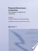 Financial Governance In East Asia Book PDF