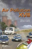 Air Pollution XVIII Book