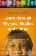 Help Your 3 5 Year Old Learn Through Rhymes  Riddles and Songs