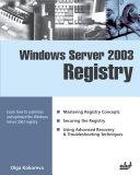 Windows Server 2003 Regestry