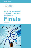 Cover of 300 Single Best Answer Questions for Medical and Surgical Finals