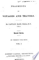 Fragments of voyages and travels Second series