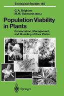 Population Viability in Plants